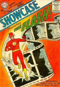 """Showcase,"" issue 4, Oct 1956, DC Comics"