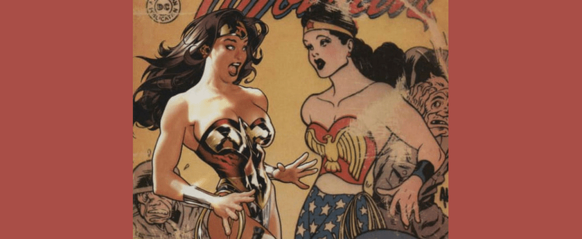 The Cover of Wonder Woman 184